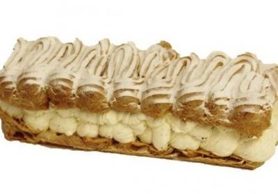 Walesstang fylt med vaniljekrem